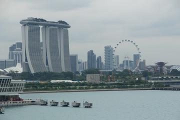 Hafen von Singapur