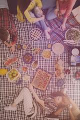 Bio food picnic