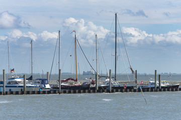 Ostfriesland, Juist, Jachthafen
