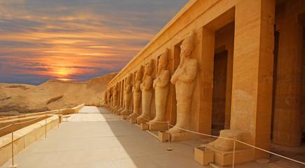 Ancient Temple of Karnak in Luxor, Egypt