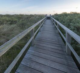 Holzbohlenweg, Ostfriesland, Juist,