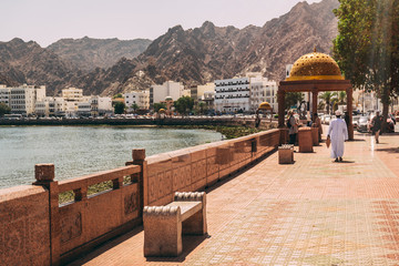 Photo sur Aluminium Moyen-Orient City of Muscat in Oman