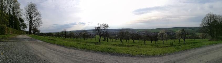Panorama im Spessart