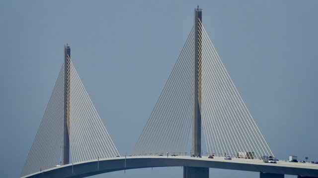 Sunshine Skyway Brücke in Florida