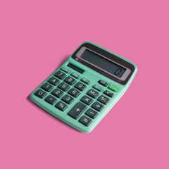 Vintage pocket calculator, with both battery and solar power, and math operations limited to...