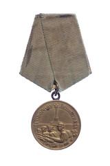 Wintage World War 2 soviet medal of Leningrad defence.