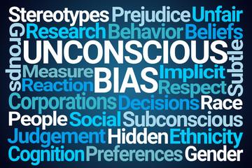 Unconscious Bias Word Cloud