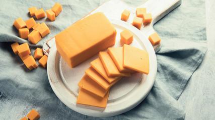 Wall Mural - Cheddar cheese