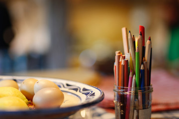 Ostereier kreativ bemalen
