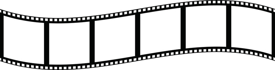 Movie film illustration