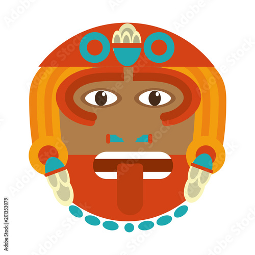 Aztec Sun God Culture Symbol Stock Image And Royalty Free Vector