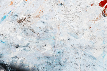 Abstract paint texture on canvas for design