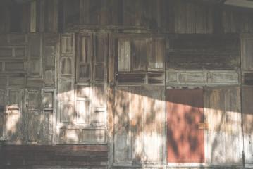 old wood window. grunge door. weathered barn texture background
