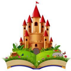 Castle in the storybook