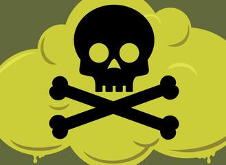 Poison Gas Cloud Symbol - Mustard