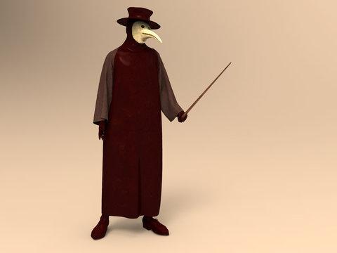 Médico de la peste negra