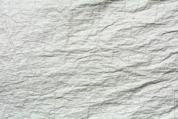 crumpled silver canvas texture