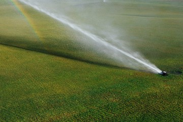 golf course automatic lawn sprinkler