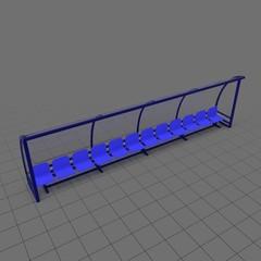 Soccer bench