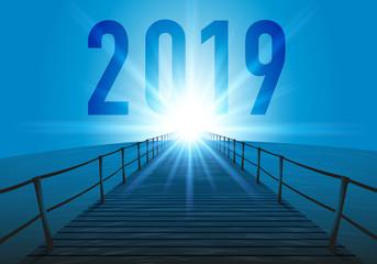 2019 - objectif - horizon - perspectives - présentation - projet - ponton - entreprise - avenir