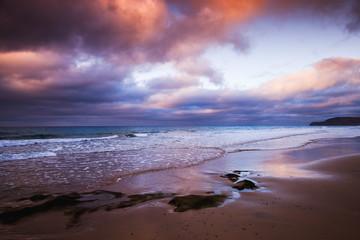 Portugal. Coastal landscape at morning