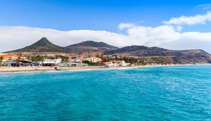 Porto Santo island in Madeira, Portugal