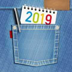 2019 - éducation - jeune - lycée - étudiant -université - objectif - challenge - carte de vœux