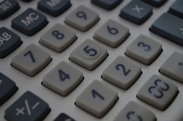 calculator, calculator buttons