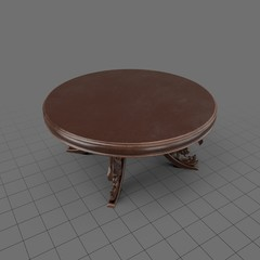 Antique semarang table