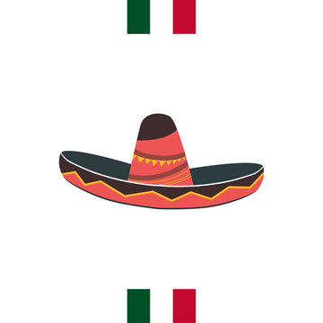 16 de Septiembre (16th of September) Mexican Independence Day icon. fieastas patrias. EPS 10 vector.
