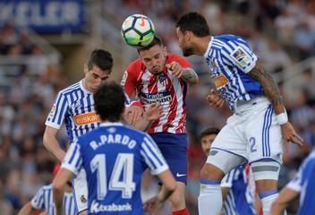 La Liga Santander - Real Sociedad vs Atletico Madrid