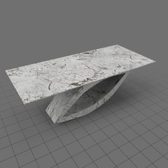 Modern granite table
