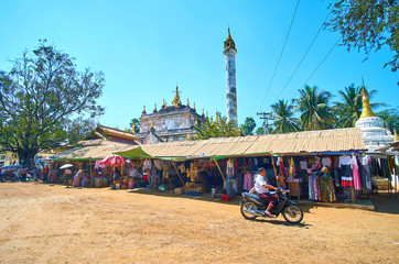 The market in Bagan