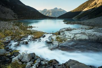 Scenery of Joffre Lake, Duffy Lake Provincial Park, Pemberton, British Columbia, Canada