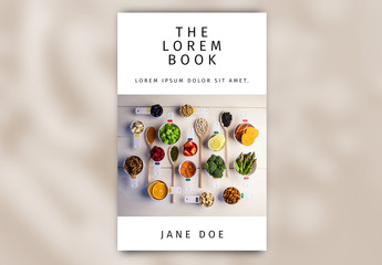 Food and Cooking eBook Cover Layout
