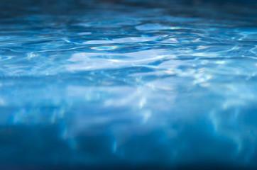 deep blue pool water background