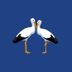 Крылатая пара