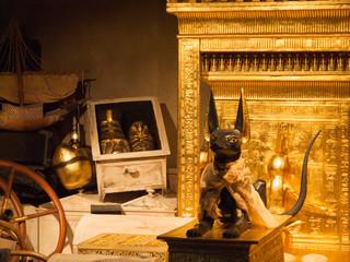 Auszug einer ägyptischen Grabkammer