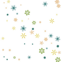 Festive Background with Colorful hearts. Delicate Pattern for Postcard, Print, Banner or Poster. Pretty hearts For Party Decoration, Wedding, Birthday or Anniversary Invitation. Vector
