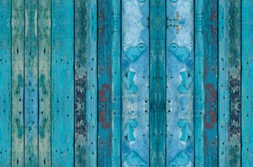 seamless pattern old dark wooden blue texture