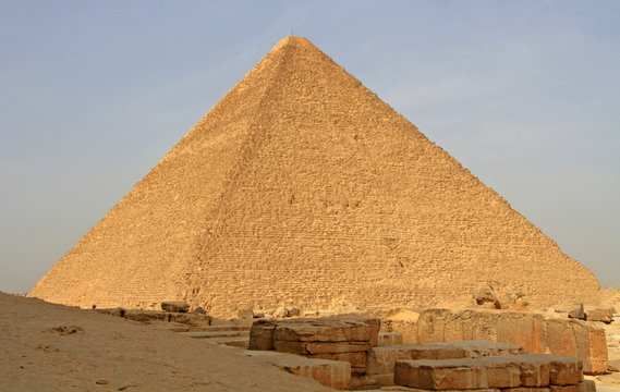 Cheops pyramid in Giza