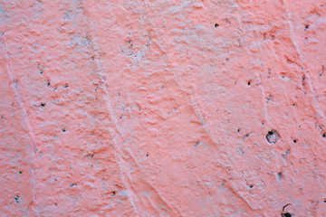 texture painted pink wall