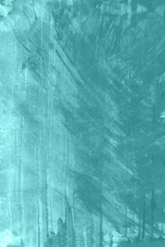 Blue and green watercolor paint background.