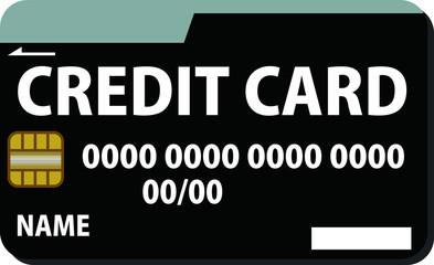 Simple Black CREDIT CARD