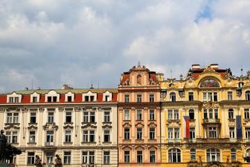 Paläste am Prager Wenzelsplatz