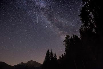 Fantastische Milchstraßen Galaxie und Sterne in Südtirol_002