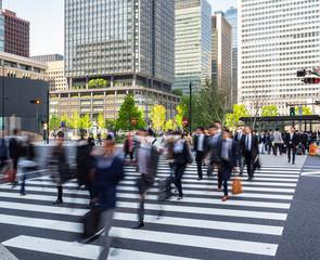 通勤イメージ 東京駅丸の内南口
