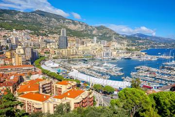 Monaco harbour, Monte Carlo