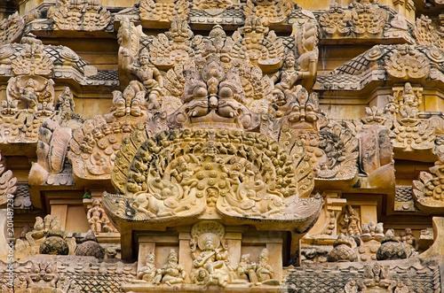 Carved idol in Gangaikondacholapuram Temple  Thanjavur