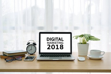 DIGITAL MARKETING 2018 Business concepts
